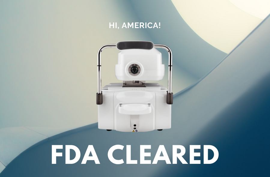 Crystalvue NFC-600 Received FDA 510(K) Clearance